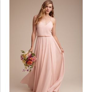 BHLDN Jenny Yoo Inesse Dress in Blush